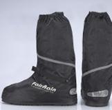 黑炫風反光防雨鞋套 ~專利多功能鞋底-避免濕疹.香港腳菌滋長哦!