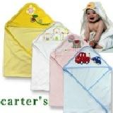 【艾佳】卡特carter's純棉嬰兒包巾 抱被 浴巾