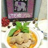 椰香紅咖哩豬